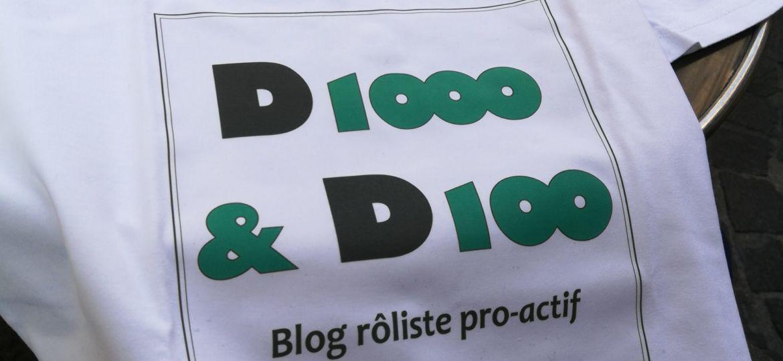 Tshirt officiel de d1000 et d100